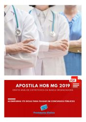 Apostila Assistente Social HOB MG 2019