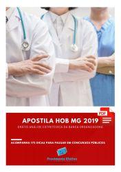 Apostila Agente Administrativo HOB MG 2019
