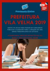 Apostila Economista Prefeitura Vila Velha 2019