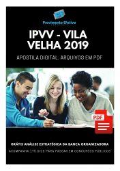 Apostila Analista de Gestão Administrativo IPVV 2019