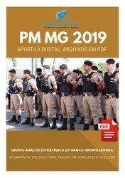 Apostila PM MG Curso de Formação de Oficiais CFO 2019