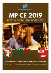 Apostila Analista Ministerial Administração MP CE 2019