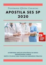 Apostila Oficial de Saúde SES SP 2020