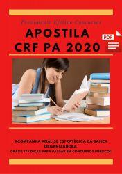 Apostila Agente Administrativo CRF PA 2020