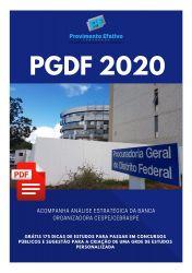 Apostila Analista Jurídico Estatística PGDF 2020