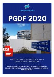 Apostila Analista Jurídico Psicologia PGDF 2020