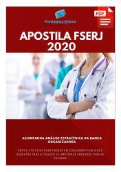 Apostila Técnico em Saúde Bucal FSERJ 2020