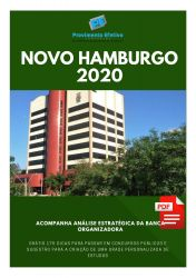 Apostila Odontólogo Prefeitura Novo Hamburgo 2020