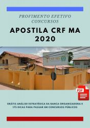 Apostila Analista Administrativo CRF MA 2020