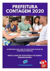 Apostila Prefeitura Contagem Cargos Nível Superior 2020