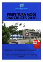 Apostila Fonoaudiólogo Prefeitura Mogi das Cruzes 2020
