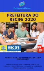 Apostila NUTRICIONISTA Prefeitura do Recife 2020