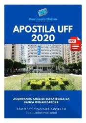 Apostila UFF ADMINISTRADOR 2020