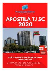 Apostila Analista Administrativo TJ SC 2020
