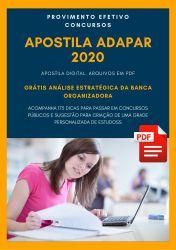 Apostila Médico Veterinário ADAPAR 2020