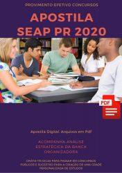 Apostila Técnico de Enfermagem SEAP PR 2020