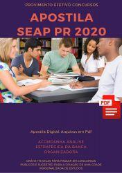 Apostila Arquiteto SEAP PR 2020