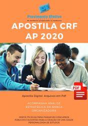 Apostila Farmacêutico Fiscal CRF AP 2020