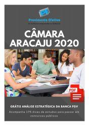 Apostila Assistente Administrativo Câmara Aracaju 2020