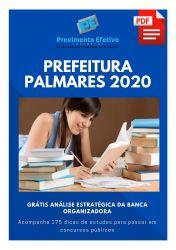 Apostila Odontólogo Prefeitura Palmares 2020