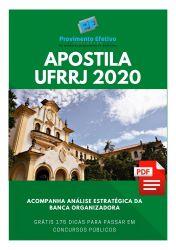 Apostila Assistente em Administração UFRRJ 2020