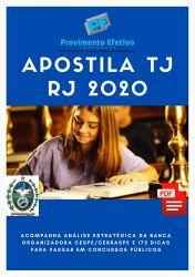 Apostila Assistente Social TJ RJ 2020 Analista Judiciário