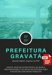 Apostila Zootecnista Prefeitura Gravatá 2020