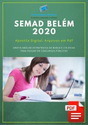 Apostila Jornalista Prefeitura de Belém 2020