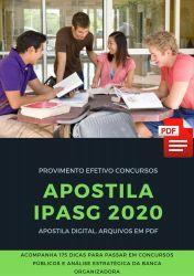 Apostila PSICÓLOGO IPASG 2020