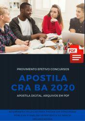 Apostila Administrador CRA BA 2020