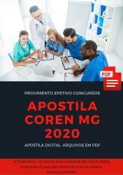 Apostila CONTADOR COREN MG 2020