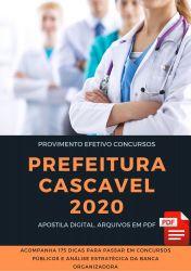 Apostila Fisioterapeuta Prefeitura Cascavel 2020