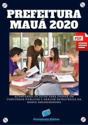 Apostila Fiscal de Tributos Prefeitura Maua 2020