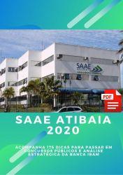 Apostila Agente Administrativo SAAE Atibaia 2020