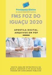 Apostila Fonoaudiólogo FMS Foz do Iguaçu 2020