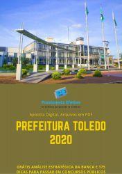 Apostila Fiscal de Obras e Posturas Prefeitura Toledo 2020