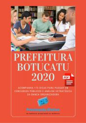 Apostila Botucatu PSICÓLOGO 2020
