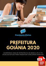 Apostila Goiânia Educação Física 2020 Analista Cultura e Desportos