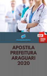 Apostila PSICÓLOGO Prefeitura Araguari 2020
