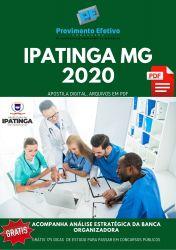 Apostila Odontólogo Odontopediatria Prefeitura Ipatinga 2020