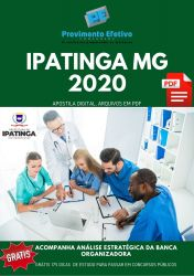 Apostila Médico Oftalmologista Prefeitura Ipatinga 2020