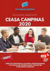 Apostila Nutricionista Ceasa Campinas 2020