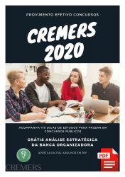 APOSTILA CREMERS 2020 ASSISTENTE PLENO