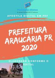 APOSTILA PREFEITURA ARAUCÁRIA 2020 FARMACÊUTICO