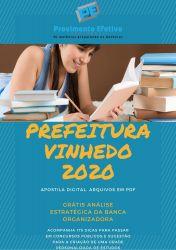 Apostila Fiscal de Rendas Prefeitura Vinhedo 2020