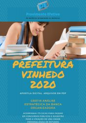 Apostila Fiscal Sanitário Prefeitura Vinhedo 2020
