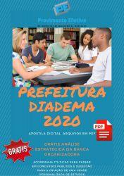 Apostila Prefeitura Diadema Atendente de Consultório Dentário 2020