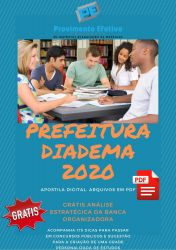 APOSTILA PREFEITURA DIADEMA AGENTE COMUNITÁRIO 2020