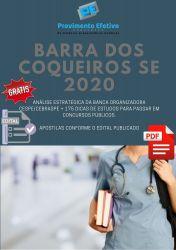 Apostila Barra dos Coqueiros Técnico de Enfermagem Urgência 2020