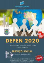 Apostila DEPEN SERVIÇO SOCIAL Especialista em Execução Penal 2020